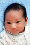 婴孩新出生的男孩 库存照片