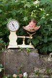 婴孩新出生的缩放比例 图库摄影