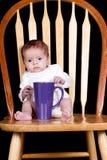 婴孩早晨 免版税图库摄影