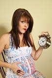 婴孩时间 免版税库存照片