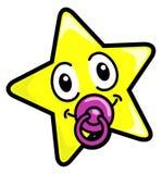 婴孩星形 免版税库存照片