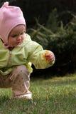 婴孩春天 图库摄影