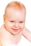 婴孩月大六 免版税图库摄影