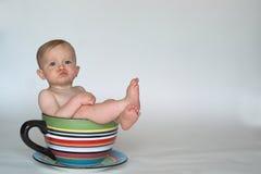 婴孩杯子 免版税图库摄影