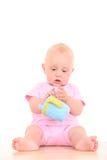 婴孩杯子 图库摄影