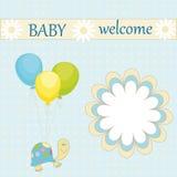 婴孩欢迎 库存图片