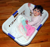 婴孩洗衣店 库存照片