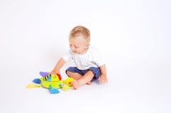 婴孩演奏玩具 库存图片