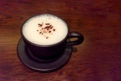 婴孩热奶咖啡 免版税库存照片