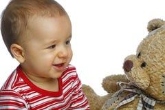 婴孩熊女用连杉衬裤 免版税库存照片