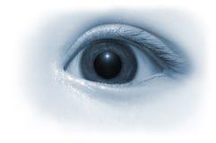 婴孩眼睛 免版税图库摄影
