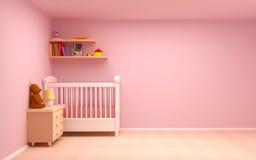 婴孩空间 库存例证