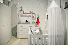 婴孩空间 库存图片