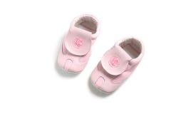 婴孩第一双s鞋子 免版税图库摄影