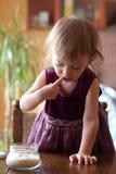 婴孩糖 库存照片