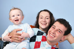 婴孩系列 免版税库存照片