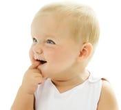 婴孩纵向 免版税图库摄影