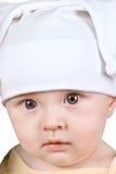 婴孩纵向 库存照片