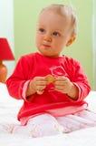 婴孩纵向 免版税库存图片