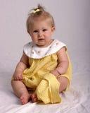 婴孩纵向 免版税库存照片
