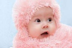 婴孩纵向 图库摄影