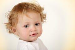 婴孩美丽的女孩 库存图片