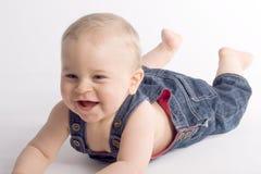 婴孩美丽的男孩 免版税图库摄影