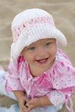 婴孩美好女孩微笑 库存图片