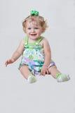 婴孩老一年 免版税库存图片