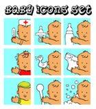 婴孩背景儿童向量 库存图片
