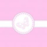 婴孩背景粉红色 免版税图库摄影