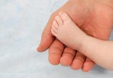 婴孩英尺 免版税图库摄影