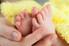 婴孩英尺s 免版税库存照片