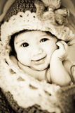 婴孩茧 免版税库存图片