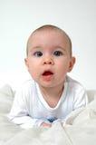 婴孩表达式 免版税库存照片