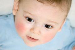 婴孩表面 免版税库存图片