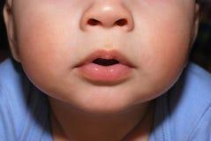 婴孩表面 库存图片