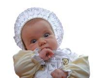 婴孩被塑造的老 免版税库存照片