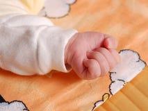 婴孩详细资料现有量 免版税图库摄影