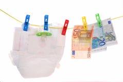 婴孩费用 免版税库存照片