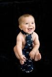 婴孩赤裸关系 库存照片