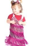 婴孩跳舞 免版税库存照片
