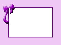 婴孩边界紫罗兰 库存照片