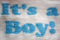 婴孩针织品 免版税库存照片