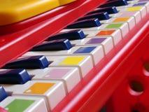 婴孩钢琴 免版税库存图片
