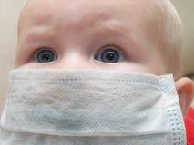 婴孩防御 库存照片