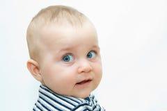 婴孩面对s 免版税库存图片