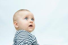婴孩面对s 免版税库存照片