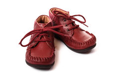 婴孩鞋类 免版税库存照片