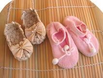 婴孩鞋类s 免版税库存图片